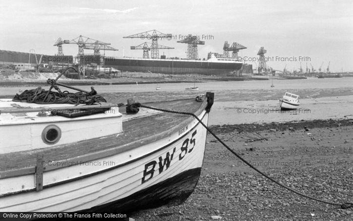 Photo of Barrow In Furness, View Across Walney Channel 1963