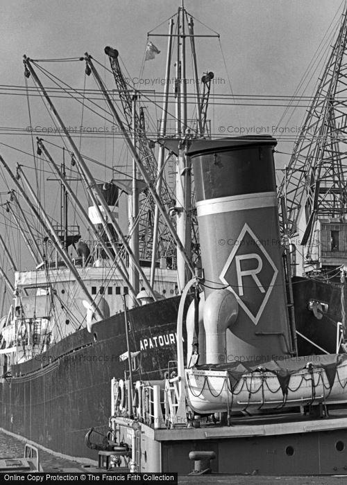 Photo of Cardiff, Docks c.1962