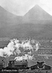 Ebbw Vale, Steel Works, Slag Heaps 1962