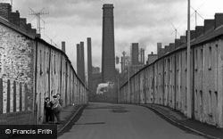 Ebbw Vale, Street Scene 1962