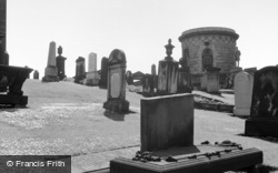 Edinburgh, Calton Cemetery c.1960