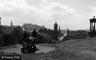 Edinburgh, Calton Hill c1960