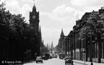 Edinburgh, Princes Street c1960
