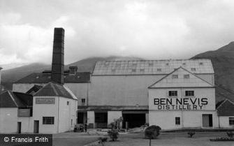 Fort William, Ben Nevis Distillery 1961