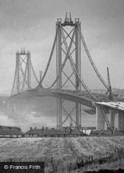 Road Bridge Under Construction c.1963, Forth Bridge