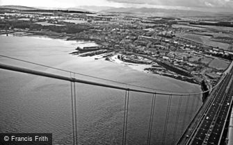 Forth Bridge, view from a Tower c1985