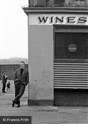 Glasgow, Street Corner, The Old Gorbals 1961