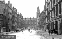 Glasgow, The Gorbals 1961