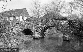 Gomshall, Tannery Bridge 1966
