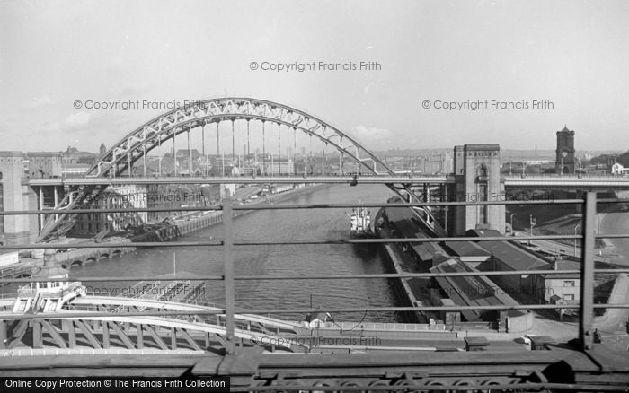 Photo of Newcastle Upon Tyne, From The Railway Bridge 1966