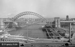 From The Railway Bridge 1966, Newcastle Upon Tyne