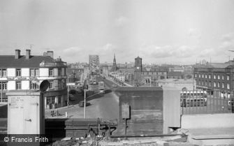 Newcastle upon Tyne, General View 1966