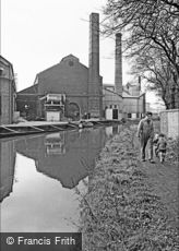 Oldbury, Father and Sons by the Canal 1964
