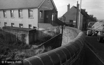 Oldbury, Gospel Hall and Canal Bridge 1964