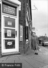 Oldbury, Green's Corner Shop, Langley High Street 1964