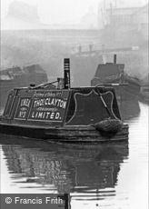 Oldbury, Narrow Boat 1964