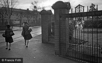 Oldbury, School Girls on the Way to School 1964
