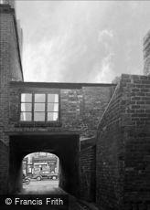 Oldbury, the Archway to Freeth Street 1964