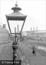 Oldbury, the Canal Tow Path 1964
