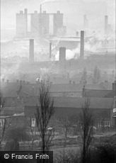 Oldbury, the Factories 1964