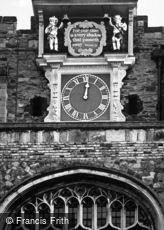 Rye, St Mary's Church Clock c2000