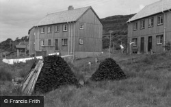 Skye, Peat Stacks And Council Houses 1961
