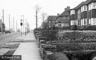 Streetly, Doe Bank Lane 1964