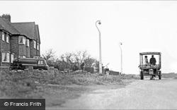 Horse-Drawn Milk Float, Doe Bank Lane 1964, Streetly