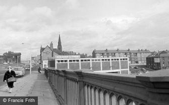 Sunderland, from Wearmouth bridge 1966