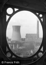 Sunderland, Power Station from the Bridge 1966