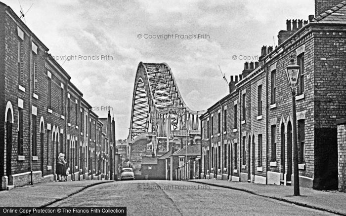 Photo of Widnes, Oakland Street 1964