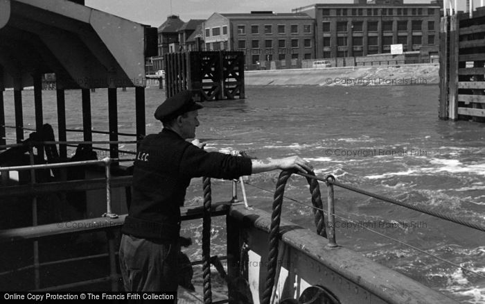 Photo of Woolwich, From The Ferry 1961