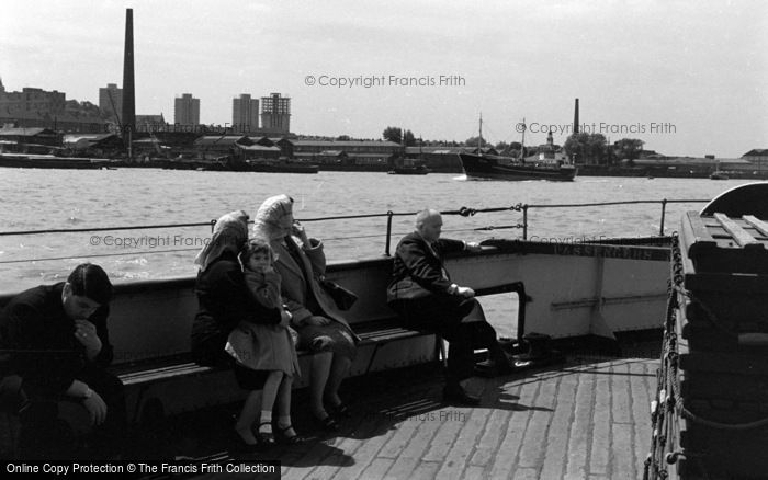 Photo of Woolwich, On The Ferry 1961