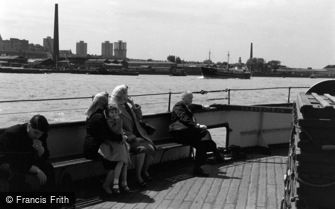 Woolwich, on the Ferry 1961