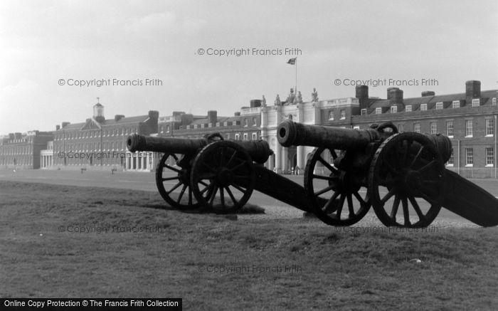 Photo of Woolwich, Royal Artillery Barracks 1962