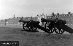 Woolwich, Royal Artillery Barracks 1962