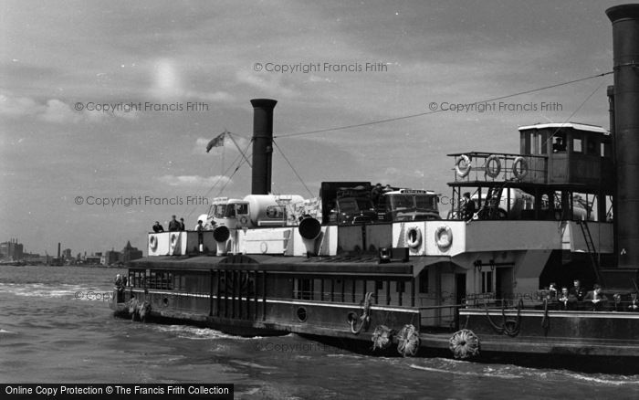 Photo of Woolwich, The Ferry 1961