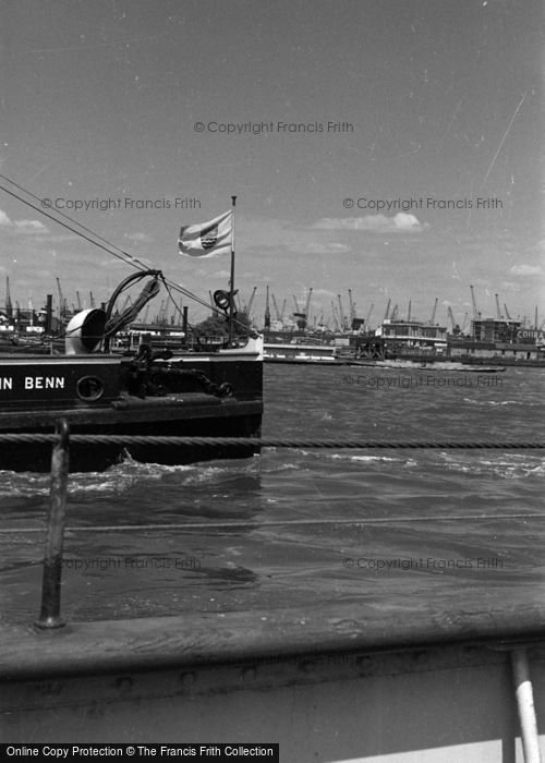 Photo of Woolwich, The Ferry, 'john Benn' 1961