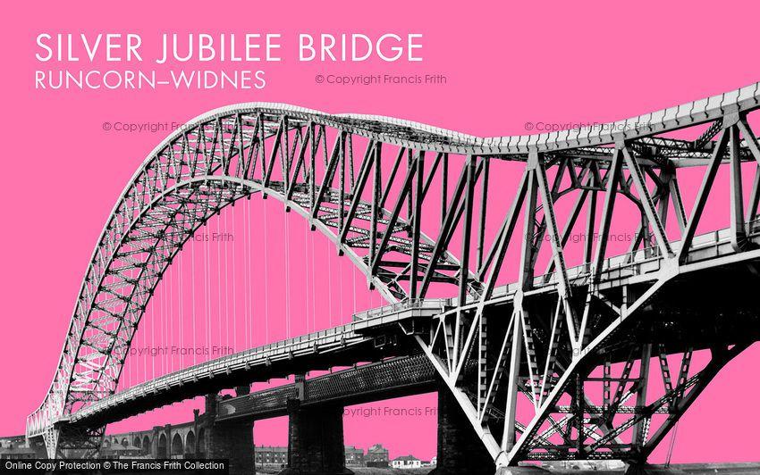 Widnes, High Level Road Bridge c1965