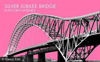 Widnes, Siver Jubilee Bridge c1965