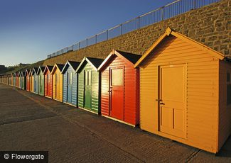 Whitby, Bright Beach Huts c2010