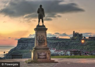 Whitby, Captain Cook's View c2010