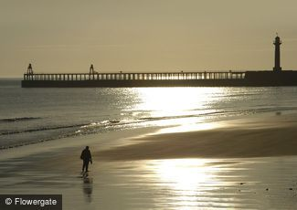 Whitby, Early Morning on the Sands c2010