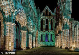 Whitby, Illuminated Abbey c2010