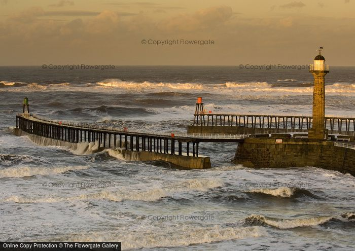 Photo of Whitby, Rough Seas c.2010