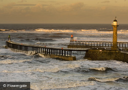 Whitby, Rough Seas c.2010