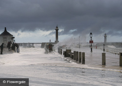 Whitby, Stormy Seas c.2010