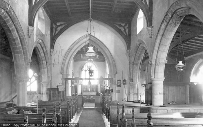 Photo of Ab Kettleby, Church, The Nave c.1955