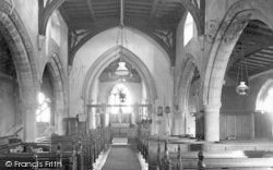 Ab Kettleby, Church, The Nave c.1955