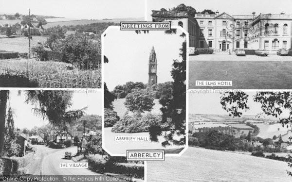 Photo of Abberley, Composite c.1960